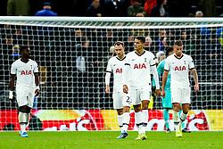 Erik Lamela of Tottenham Hotspur looks dejected after Bayern Munich go 2-6 up - Rogan/JMP - 01/10/2019 - FOOTBALL - Tottenham Hotspur Stadium - London, England - Tottenham Hotspur v Bayern Munich - UEFA Champions League Group B.