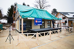 House during Presentation of new house of Jakov Fak, made by Lumar, on February 26, 2018 in Lesce, Lesce, Slovenia. Photo by Ziga Zupan / Sportida