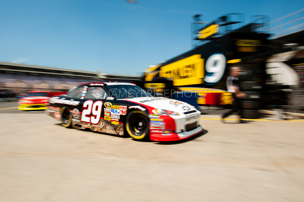 May 20, 2011: May 20, 2011: NASCAR Sprint Cup All Star Race practice. Kevin Harvick