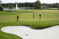 ZWOLLE - Dubbele green 9 en 18 van Golf Club Zwolle . COPYRIGHT KOEN SUYK