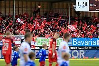 Fotball , 15. sep 2018 , Eliteserien,<br />Haugesund - Brann Bergen<br />Supporters fra Brann Bergen før kampen mot Haugesund.<br />Foto: Andrew Halseid Budd , Digitalsport