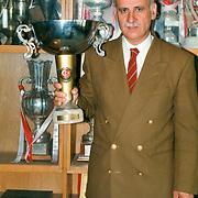 Trabzonspor ex head coach Ahmet Suat OZYAZICI. Photo by TURKPIX