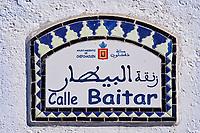 Maroc, Region du Rif, Ville de Chefchaouen, La medina bleue // Morocco, Rif area, Chefchaouen (Chaouen) town, the blue city