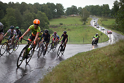 The break starts the long loop in the Crescent Vargarda - a 152 km road race, starting and finishing in Vargarda on August 13, 2017, in Vastra Gotaland, Sweden. (Photo by Balint Hamvas/Velofocus.com)
