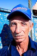 A photographer in Gibara, Holguin, Cuba.