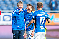 Fotball , 14 August 2016 , Tippeligaen , Eliteserien , Aalesund - Molde , Ole Gunnar Solskjær , Mattias Mostrøm , Fredrik Aursnes<br /> <br /> Foto: Marius Simensen, Digitalsport