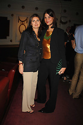 Left to right, VANESSA WINGATE and KATRINA PAVLOS at the Grand Classics presentation of Ken Loach's Oscar winning film 'Closely Observed Trains' held at the Electric Cinema, Portobello Road, London W11 on 9th July 2007.<br />