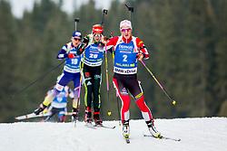 Katharina Innerhofer (AUT) during Women 15km Individual at day 5 of IBU Biathlon World Cup 2018/19 Pokljuka, on December 6, 2018 in Rudno polje, Pokljuka, Pokljuka, Slovenia. Photo by Ziga Zupan / Sportida