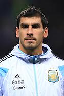 Jose Maria Basanta of Argentina - Argentina vs. Portugal - International Friendly - Old Trafford - Manchester - 18/11/2014 Pic Philip Oldham/Sportimage