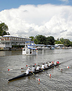 Henley, Great Britain.   St Paul's School, Concord after their afternoon training session  at  Henley Royal Regatta. Henley Reach, England 03.07.2007 [Mandatory credit Peter Spurrier/ Intersport Images] Rowing Courses, Henley Reach, Henley, ENGLAND . HRR. ...........Rowing Courses, Henley Reach, Henley, ENGLAND. HRR