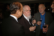 JIMMY CHOO AND SIR PETER BLAKE, Sir Peter Blake and Poppy De Villeneuve host a party with University of the Arts London at the Arts Club, Dover Street, London. 20 APRIL 2006<br />ONE TIME USE ONLY - DO NOT ARCHIVE  © Copyright Photograph by Dafydd Jones 66 Stockwell Park Rd. London SW9 0DA Tel 020 7733 0108 www.dafjones.com