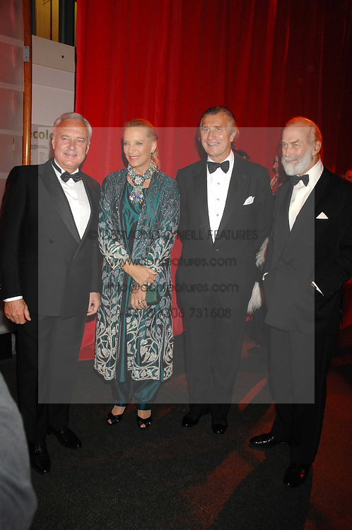 Left to right, BERNARD FORNAS, PRINCESS MICHAEL OF KENT, ARNAUD BAMBERGER and PRINCE MICHAEL OF KENT at a dinner held at the Natural History Museum to celebrate the re-opening of their store at 175-177 New Bond Street, London on 17th October 2007.<br /><br />NON EXCLUSIVE - WORLD RIGHTS