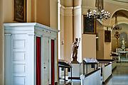 Confessional, Baltimore Basilica, Maryland, USA
