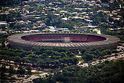 Belo Horizonte_MG, Brasil...Imagem aerea do Mineirao (Governador Magalhaes Pinto) na Pampulha...Aerial view of Mineirao (Governador Magalhaes Pinto) in Pampulha...Foto: BRUNO MAGALHAES / NITRO