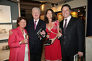 CAROLINE STEVENSON, ROY MILES, LOUISE AND HAMISH PATERSON.  Grosvenor House Art & Antiques Fair charity gala evening in aid of Coram Foundation. Grosvenor House. Park Lane. London. 14 June 2007.  -DO NOT ARCHIVE-© Copyright Photograph by Dafydd Jones. 248 Clapham Rd. London SW9 0PZ. Tel 0207 820 0771. www.dafjones.com.