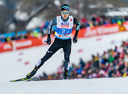 24.02.2019, Seefeld, AUT, FIS Weltmeisterschaften Ski Nordisch, Seefeld 2019, Nordischen Kombination, Teambewerb, Langlauf, im Bild Akito Watabe (JPN) // Akito Watabe of Japan during the cross country for the team competition Nordic Combined of FIS Nordic Ski World Championships 2019 Seefeld, Austria on 2019/02/24. EXPA Pictures © 2019, PhotoCredit: EXPA/ Stefan Adelsberger