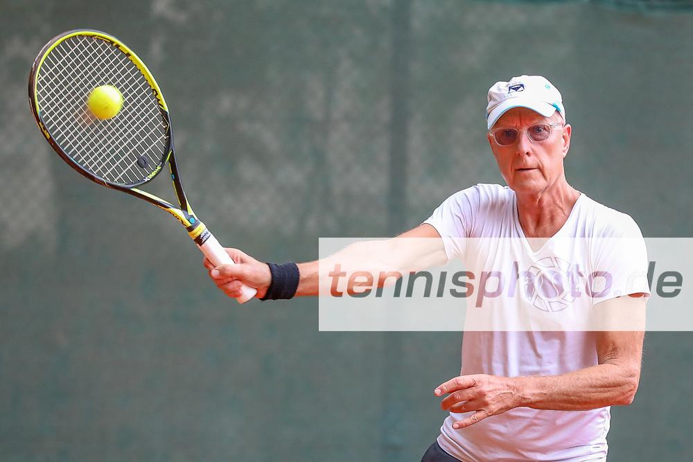 Gerd Hekele (Berliner Sport-Verein 1892), Grunewald Open 2018 - Senioren, Finals, Berlin, 16.09.2018, Foto: Claudio Gärtner