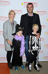 Naomi Watts, Liev Schreiber and family at the 25th Annual Light Up A Life Halloween Carnival at Chelsea Piers Field House.<br /> (NYC)