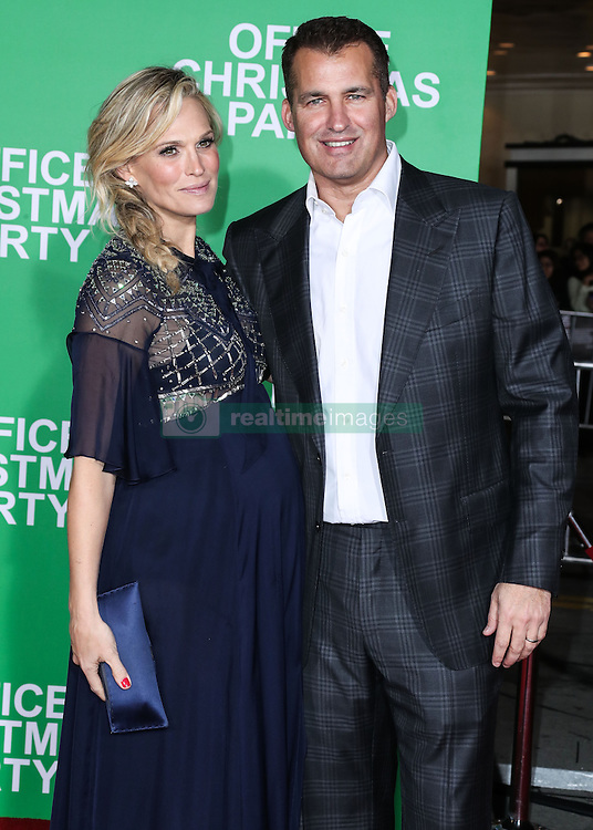 Los Angeles Premiere Of Paramount Pictures' 'Office Christmas Party' at the Regency Village Theatre on December 7, 2016 in Westwood, California. 07 Dec 2016 Pictured: Molly Sims, Scott Stuber. Photo credit: Image Press/MEGA TheMegaAgency.com +1 888 505 6342