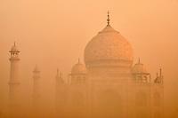 Inde, etat de Uttar Pradesh, Agra, Taj Mahal, Patrimoine Mondial de l'UNESCO// India, Uttar Pradesh state, Agra, Taj Mahal, Unesco world heritage