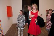 JILL RITBLAT; SARAH BRAKA, Damien Hirst, Tate Modern: dinner. 2 April 2012.