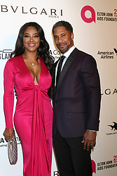 March 4, 2018 - West Hollywood, CA, USA - LOS ANGELES - MAR 4:  Kenya Moore, Marc Daly at the 2018 Elton John AIDS Foundation Oscar Viewing Party at the West Hollywood Park on March 4, 2018 in West Hollywood, CA  (Credit Image: © Kathy Hutchins via ZUMA Wire)