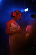18th April 2009. Indio, California. British singer Joss Stone on stage, at the Coachella Music Festival..PHOTO © JOHN CHAPPLE / REBEL IMAGES.tel +1 310 570 9100    john@chapple.biz