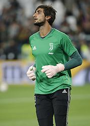 September 26, 2018 - Turin, Italy - Mattia Perin during Serie A match between Juventus v Bologna, in Turin, on September 29, 2018  (Credit Image: © Loris Roselli/NurPhoto/ZUMA Press)