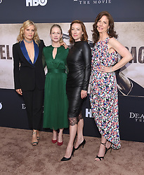 May 14, 2019 - Hollywood, California, U.S. - Kim Dickens, Paula Malcomson, Molly Parker and Robin Weigert arrives for the premiere of HBO's 'Deadwood' Movie at the Cinerama Dome theater. (Credit Image: © Lisa O'Connor/ZUMA Wire)