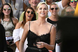 Charlize Theron is seen at Jimmy Kimmel in Los Angeles, California. 08 Jun 2017 Pictured: Charlize Theron. Photo credit: PG/Bauergriffin.com / MEGA TheMegaAgency.com +1 888 505 6342