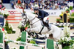 Rhomberg Christian, AUT, Saphyr Des Lacs<br /> Gothenburg Horse Show FEI World Cups 2017<br /> © Hippo Foto - Stefan Lafrentz<br /> 26/02/17
