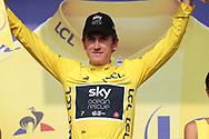 Podium, Geraint Thomas (GBR - Team Sky) yellow jersey during the 105th Tour de France 2018, Stage 18, Trie sur Baise - Pau (172 km) on July 26th, 2018 - Photo George Deswijzen / Pro Shots / ProSportsImages / DPPI