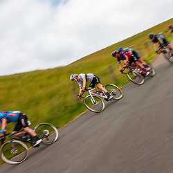 WIJSTER (NED) June 19: <br /> CYCLING <br /> Dutch Nationals Road WOMEN up and around the Col du VAM<br /> Descent Anna van der Bruggen