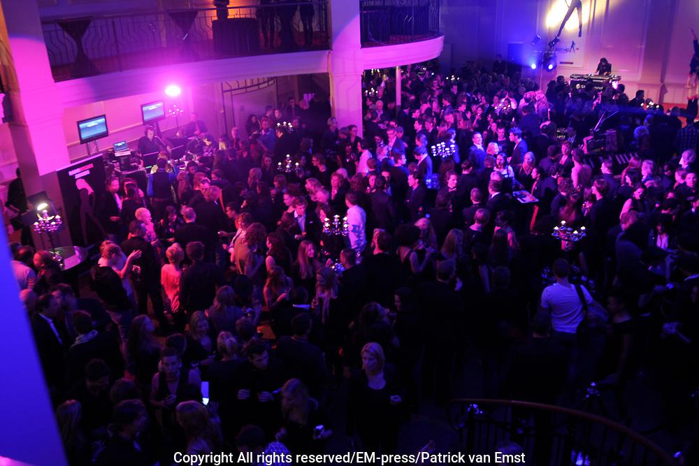 5e Editie Radiobitches Awards in Studio 21, Hilversum.<br /> <br /> Op de foto: