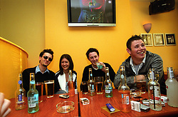 Young people in pub in Jesmond; Newcastle upon Tyne; popular student venue UK