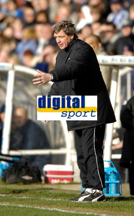 Photo: Jed Wee/Sportsbeat Images.<br /> Hartlepool United v Hereford United. Coca Cola League 2. 03/03/2007.<br /> <br /> Hereford manager Graham Turner.