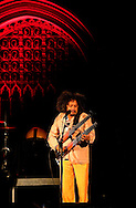 Brazilian musician Chico Cesar playing support for Bassekou Kouyate at Union Chapel in Islington, London, UK (20 March 2014)