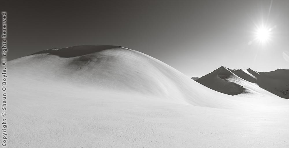At the top of Slakbreen (breen is Norwegian for glacier)