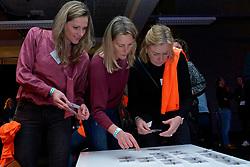 10–01-2020 NED: Side-events during OQT, Apeldoorn<br /> VIP space / Lisette van de Ven, Cintha Boersma