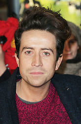 © Licensed to London News Pictures. Radio one DJ Nick Grimshaw, attends The Class of 92  World Film Premiere at The Odeon West End, Leicester Square, London on 01 December 2013. Photo credit: Richard Goldschmidt/LNP