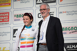 Lizzie Armitstead (Boels-Dolmans Cycling Team) took back the UCI Women's WorldTour Leader's Jersey after winning the Trofeo Alfredo Binda - a 123.3km road race from Gavirate to Cittiglio on March 20, 2016 in Varese, Italy.