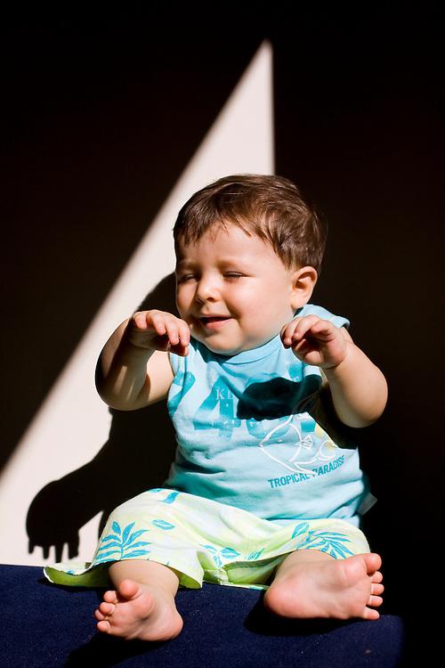 Belo Horizonte_MG, Brasil...Retrato de um bebe...A baby portrait...Foto: MARCUS DESIMONI / NITRO
