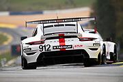 October 15-17, 2020. IMSA Weathertech Petit Le Mans: #912 Porsche GT Team Porsche 911 RSR, GTLM: Mathieu Jaminet, Earl Bamber, Laurens Vanthoor