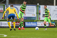Forest Green Rovers Liam Noble(15) runs forward during the Vanarama National League match between Forest Green Rovers and Torquay United at the New Lawn, Forest Green, United Kingdom on 1 January 2017. Photo by Shane Healey.