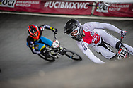 #373 (BLANC Renaud) SUI at Round 6 of the 2019 UCI BMX Supercross World Cup in Saint-Quentin-En-Yvelines, France