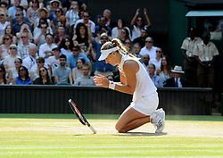July 14, 2018 - Angleterre - Wimbledon - Angelique Kerber Allemagne remporte la finale dames 6/3 6/3 (Credit Image: © Panoramic via ZUMA Press)