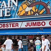 Captain White's at Maine Avenue Fish Market in Washington DC