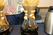 COFFEE<br /> Curators: Shawn Steiman, Coffea Consulting and Juli Burden, Hawai'i Agriculture Research Center<br /> Featured is a side by side tasting of six coffee varieties grown at the same farm site at the Hawai'i Agriculture Research Center Kunia Location.<br /> 'Typica' - one of the most common varieties in Hawai'i 'Mokka' - one of the smallest sized varieties from Yemen ET17, ET52, ET28 - three Ethiopian varieties<br /> SL28 - a Kenyan breed