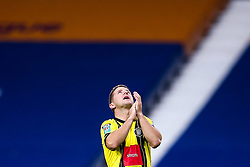 Josh Falkingham of Harrogate Town looks to the heavens ahead of his side's fixture in the Carabao Cup against West Bromwich Albion - Mandatory by-line: Robbie Stephenson/JMP - 16/09/2020 - FOOTBALL - The Hawthorns - West Bromwich, England - West Bromwich Albion v Harrogate Town - Carabao Cup