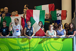 04.09.2013, Arena Bonifka, Koper, SLO, Eurobasket EM 2013, Russland vs Italien, im Bild Fans of Italy // during Eurobasket EM 2013 match between Russia and Italy at Arena Bonifka in Koper, Slowenia on 2013/09/04. EXPA Pictures © 2013, PhotoCredit: EXPA/ Sportida/ Matic Klansek Velej<br /> <br /> ***** ATTENTION - OUT OF SLO *****